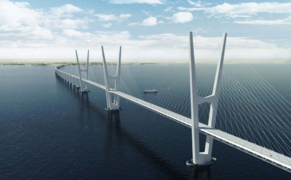 Great Belt Bridge, Denmark