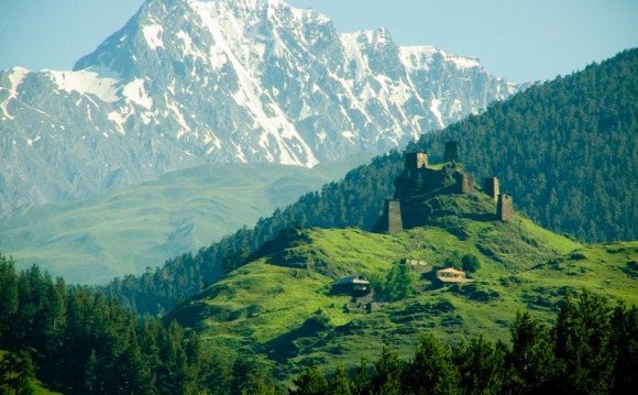 Caucasian towers