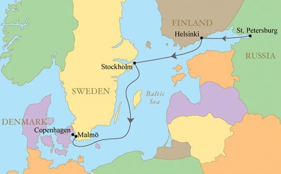 Baltic Sea countries map Baltic Sea Baltic Coast