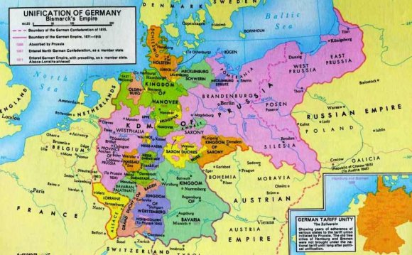Germany Before Unification Map