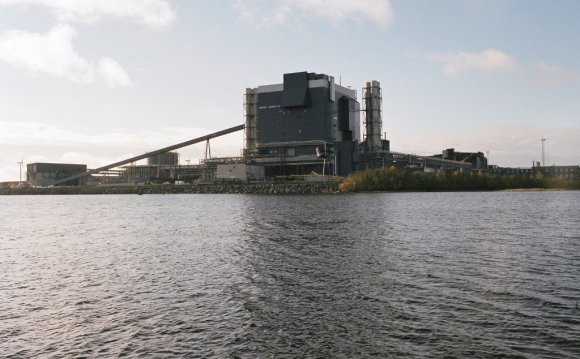 Outokumpu mill in Tornio