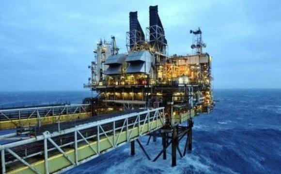 BP announces North Sea job