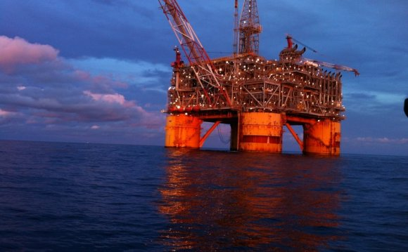 Floating Oil Rig called Mars