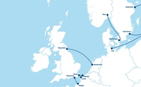 Our Baltic Sea routes include