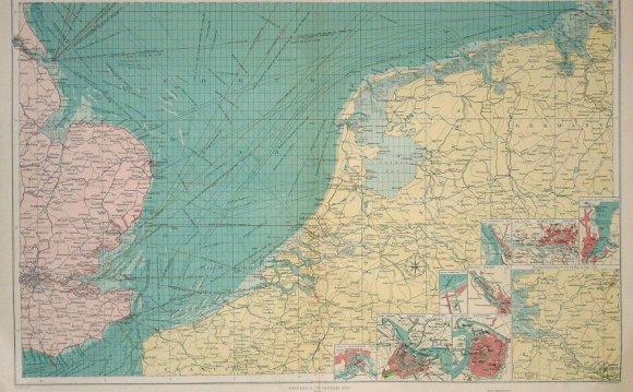 Southern North Sea, large