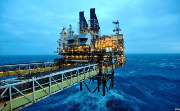 In pictures: North Sea oil and