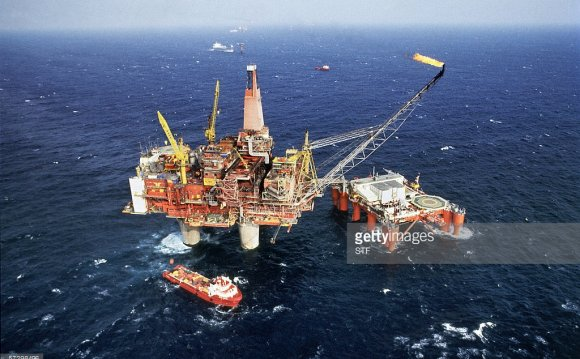 The price of Brent North Sea