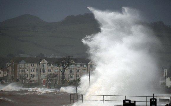 Severe gales bring disruption