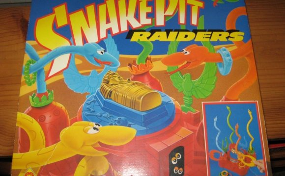 Snakepit Raiders Board Game