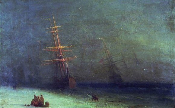 The Shipwreck on Northern sea