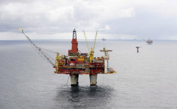 Norwegian oil rigs