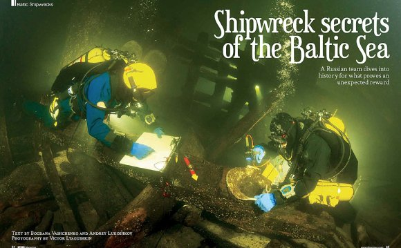 Baltic Sea shipwrecks