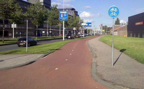 Netherlands, bike paths