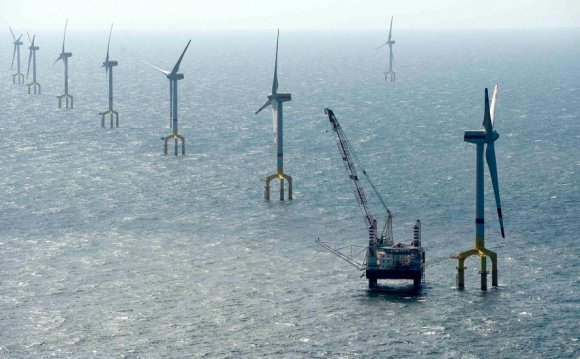 Wind Farm, North Sea