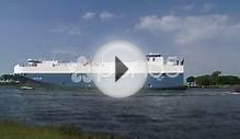 Amsterdam, North Sea Canal Mv Baltic Ace Ship Car Carrier