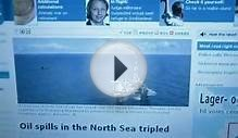 another oil spill north sea ? wtf