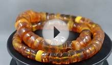 波羅的海琥珀 Antique natural Baltic amber necklace