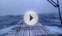 Bad weather on the North Sea 27-11-2011