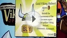 Club Penguin - Gold Viking Helmet Location (REAL)