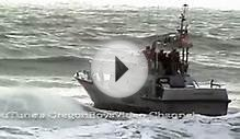 Coast Guard rough sea training Raw video of Checto Bar