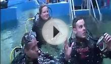 Deep Sea World Real Radio Teenagers Shark dive.mov