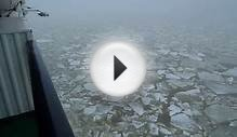 Drift ice on Baltic Sea
