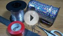 How To Tie Mackerel Feather Rigs, Holographic sea fishing