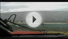 Landing SK76 Helicopter Offshore Oil Rig in bad weather Video
