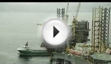Maersk Oil - Tyra East Platform in the North Sea