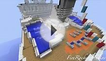 "MineCraft Oasis Of The Sea Cruise Ship ""Top Maps Of The"