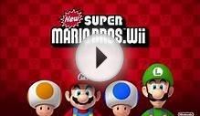 New Super Mario Bros Wii Music - World Map 2 Sea of Sand.