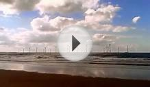 Redcar Wind Farm the sound of the sea