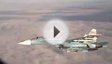 Russian Su 27 Flanker intercepts P 3 Orion over Baltic Sea
