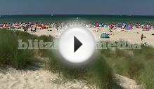 Stock Footage Europe Germany Baltic Sea Beach Darss