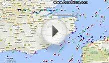 Watching the North Sea Activity via MarineTraffic.com
