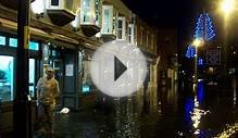 Whitby Flooded By North Sea Storm Surge