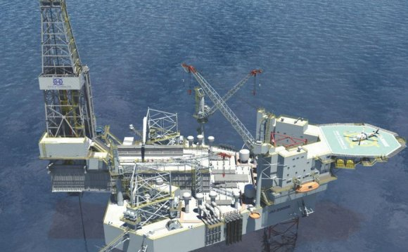 North Sea drilling